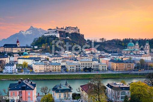 istock Salzburg, Austria. 479447668