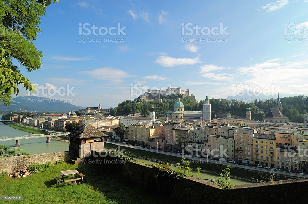 Salzburg royalty-free stock photo
