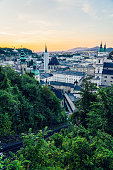 Salzburg, well known city in Austria, since 1996 listed as a UNESCO World Heritage Site.