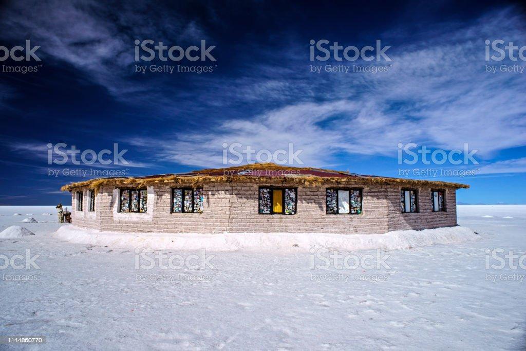salzhotel - Lizenzfrei Bolivien Stock-Foto