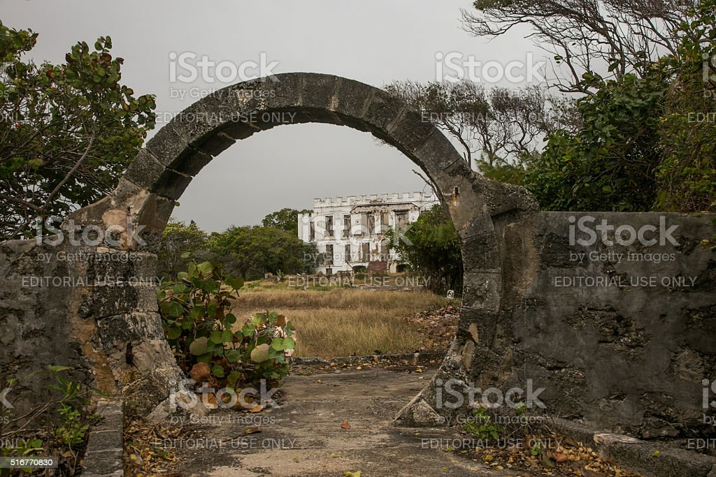 sam lords castle in barbados february 15 2016 royalty free stock photo