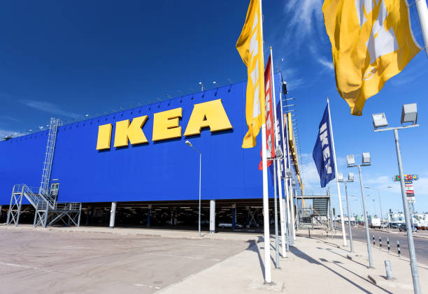 Samara bei IKEA. IKEA ist der weltweit größte Möbelhändler und verkauft Möbel Montagefertiges – Foto