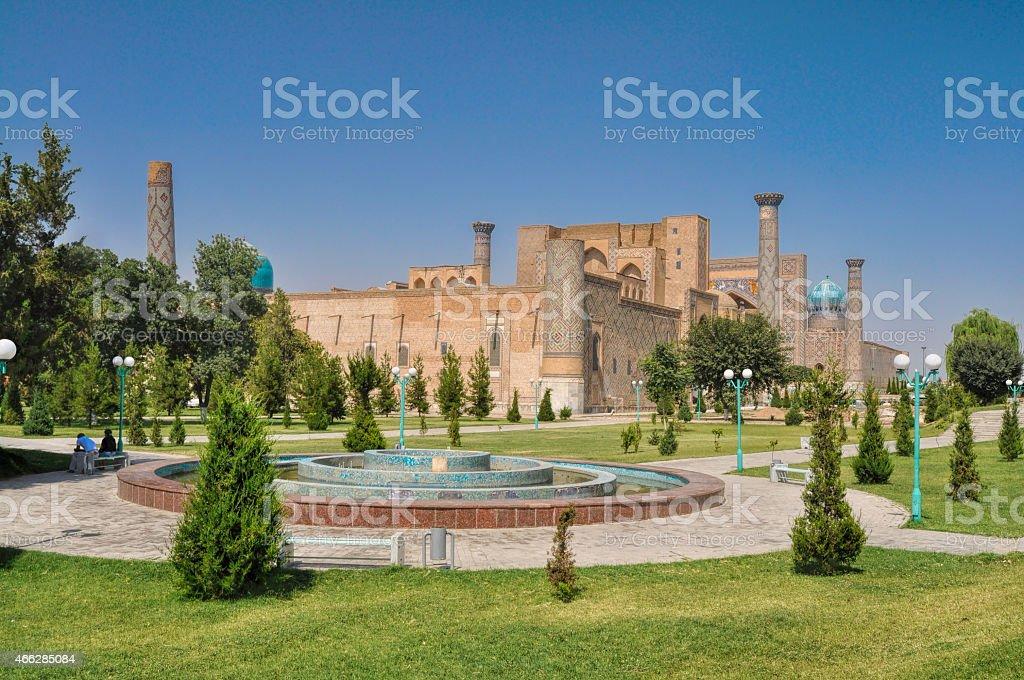 Samarkand in Turkmenistan stock photo