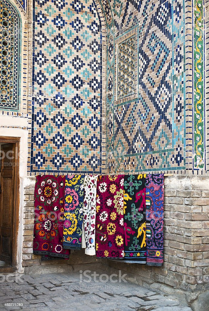 Samarkanda, Uzbekistan stock photo
