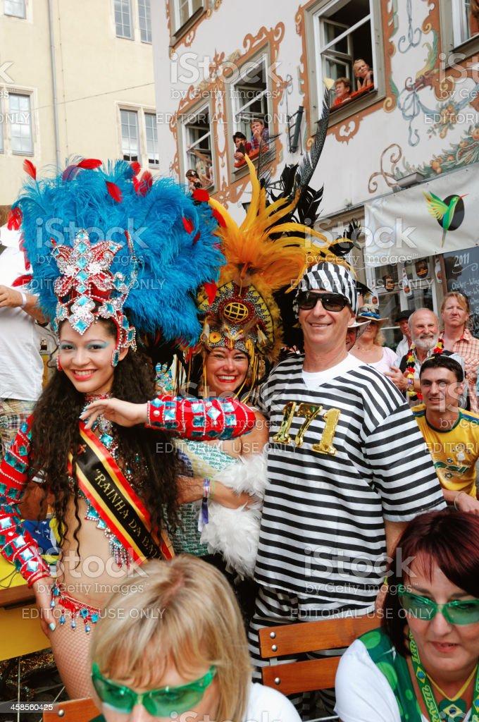 Samba Festival Coburg royalty-free stock photo
