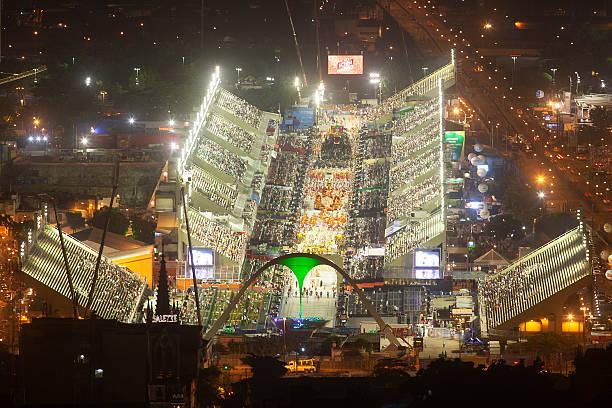 Sambodromo in Rio de Janeiro - Carnival stock photo