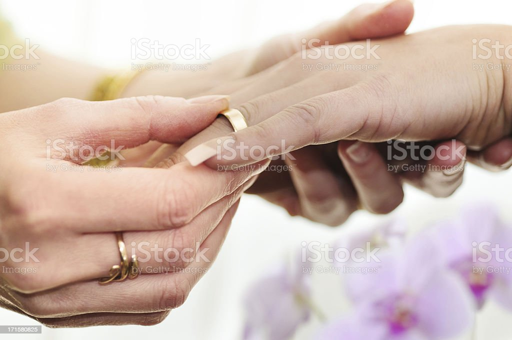 same sex marriage, women stock photo