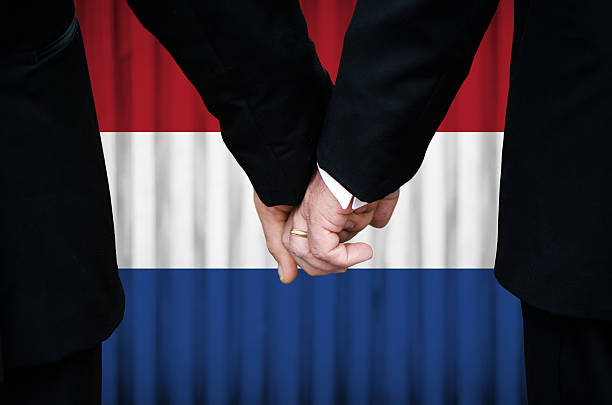 Same-Sex Marriage in Netherlands stock photo
