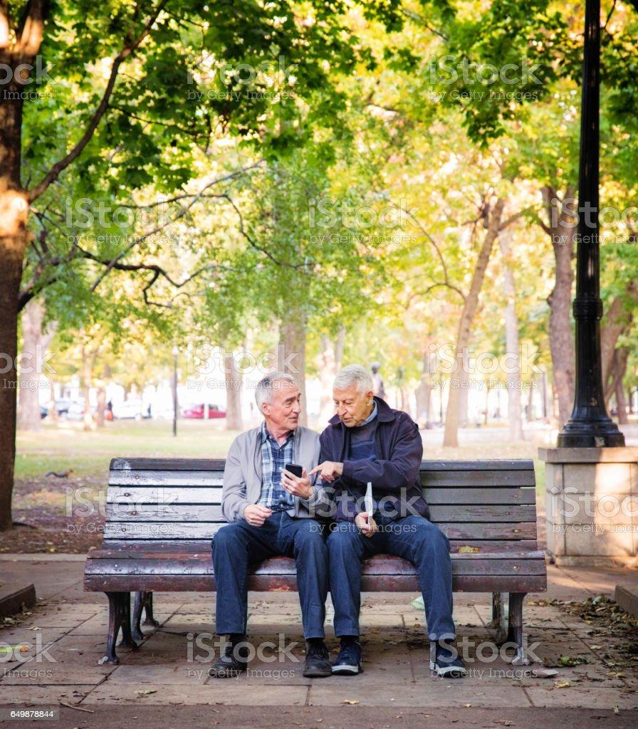 Même sexe Seniors - en bref - Photo