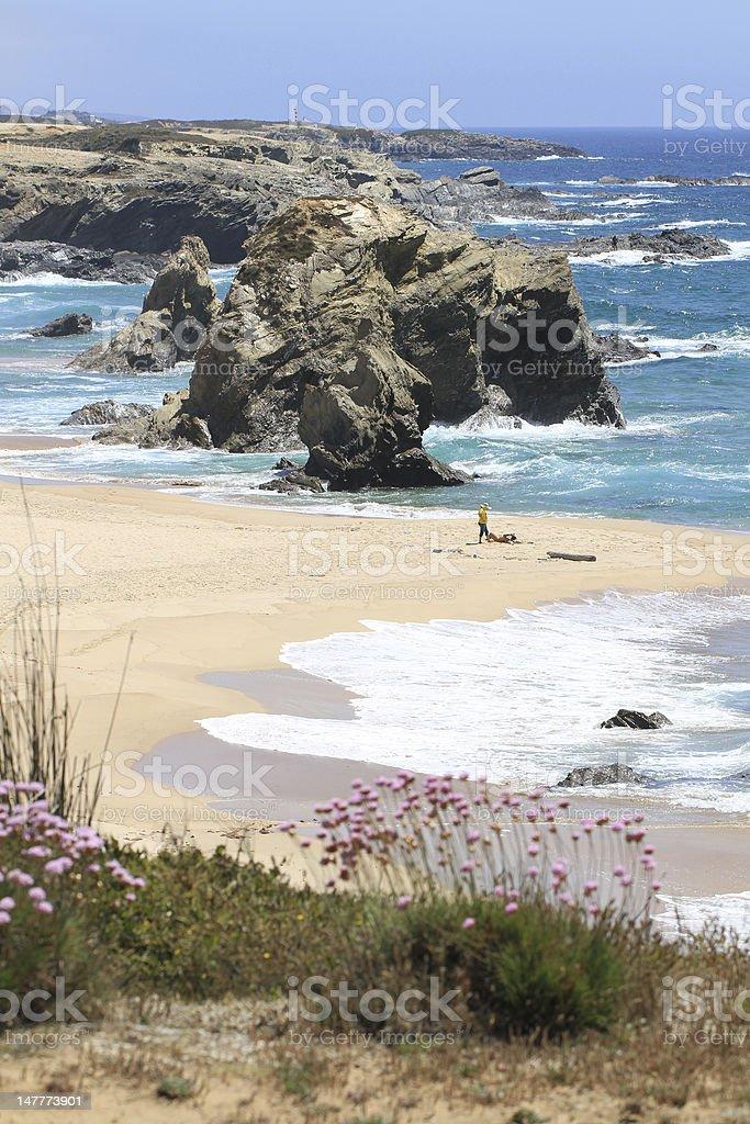 Samoqueira beach stock photo