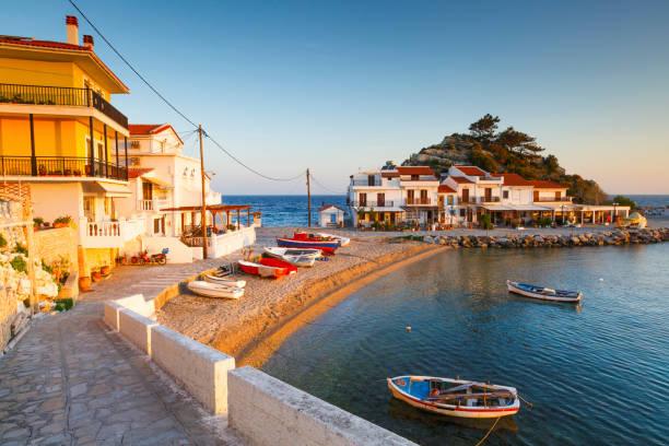 Samos Island. stock photo