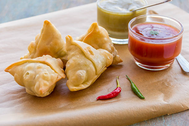 samosa - samosa stock photos and pictures