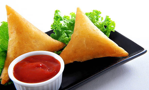 samosa-20 - samosa stock photos and pictures