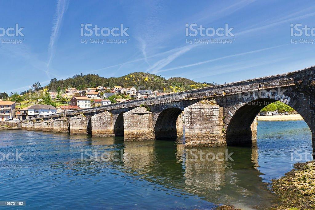 Sampaio bridge royalty-free stock photo