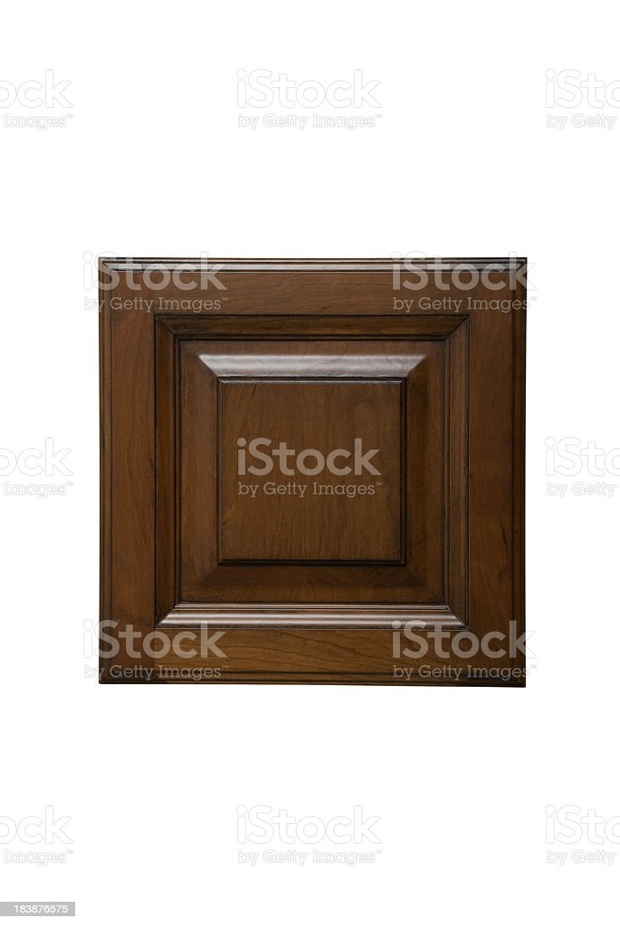 Sample Cabinet Door With Special Finish stock photo