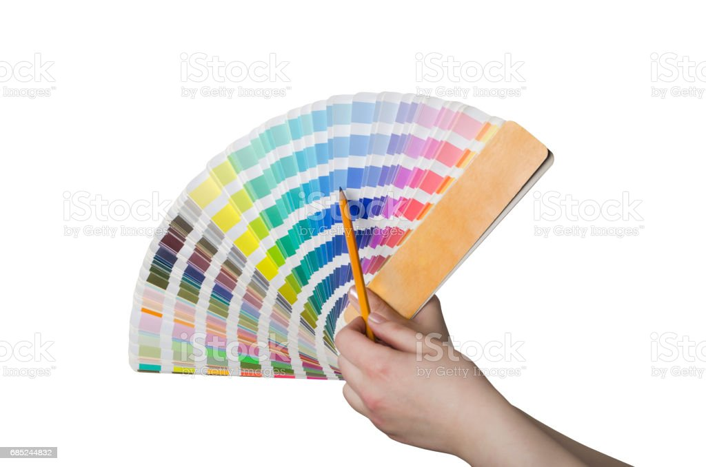... Sample Color Chart Stock Photo ...