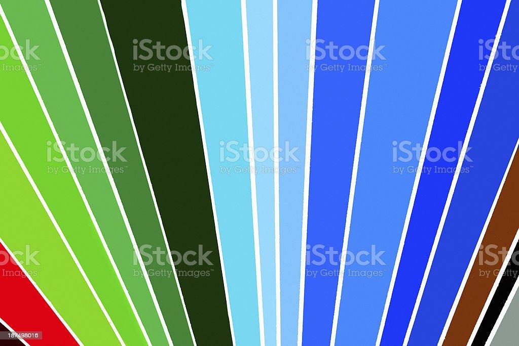 sample colors, macro royalty-free stock photo