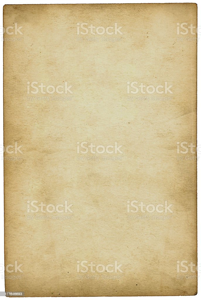 A sample of an old paper in beige color royalty-free stock photo