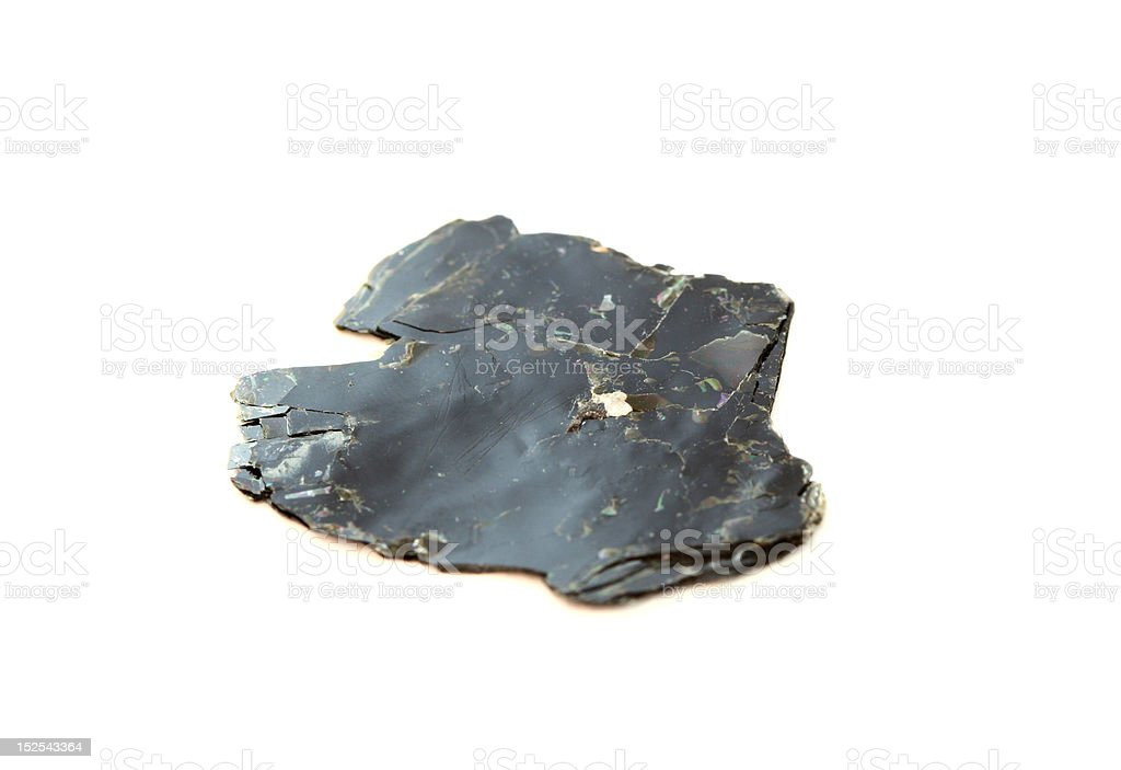 Sample of Biotite Mica stock photo