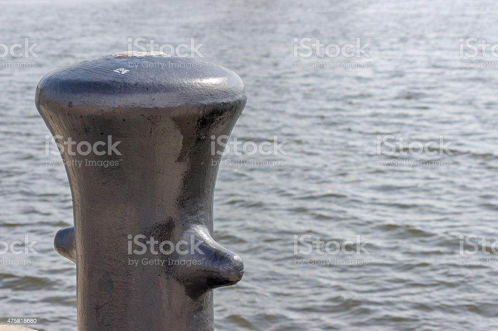 Sampson Post On A Dock stock photo
