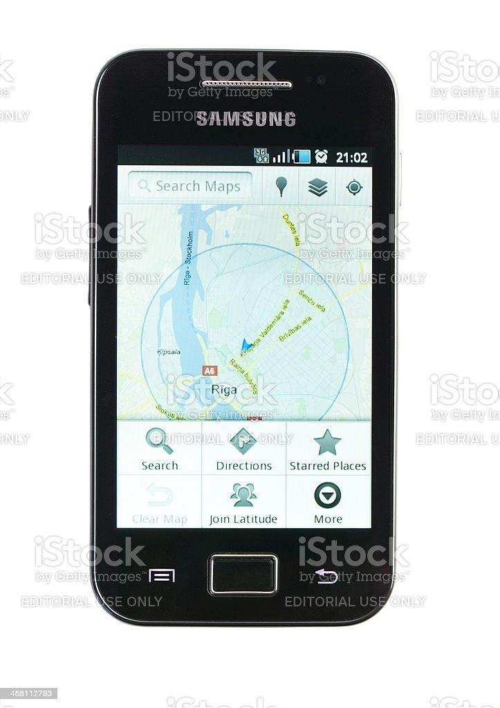 Samsung Galaxy Ace S5830 royalty-free stock photo