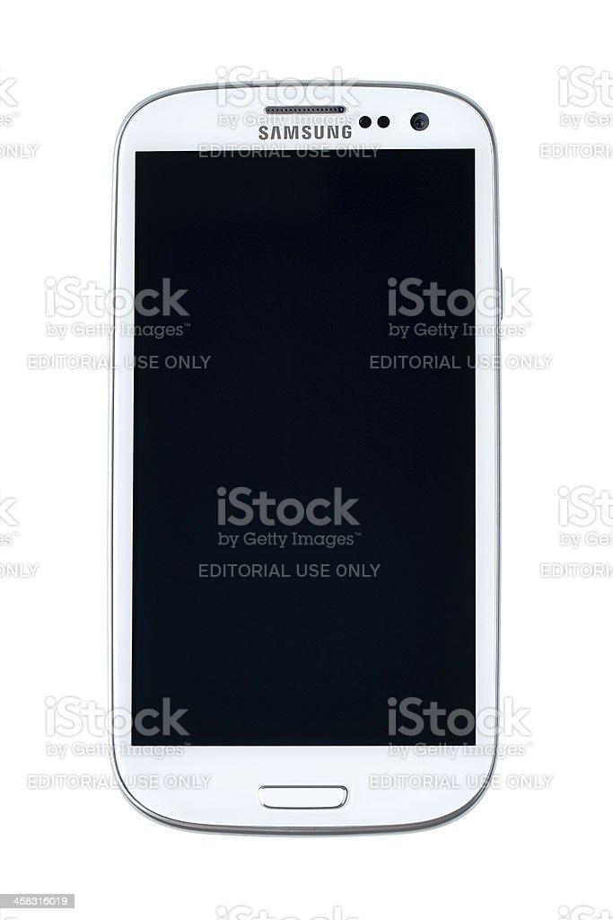 Samsung Galaxy S III royalty-free stock photo