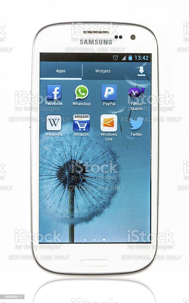 Samsung Galaxy S3 royalty-free stock photo