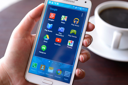 Samsung Galaxy S5 Smart Phone Stock Photo - Download Image Now