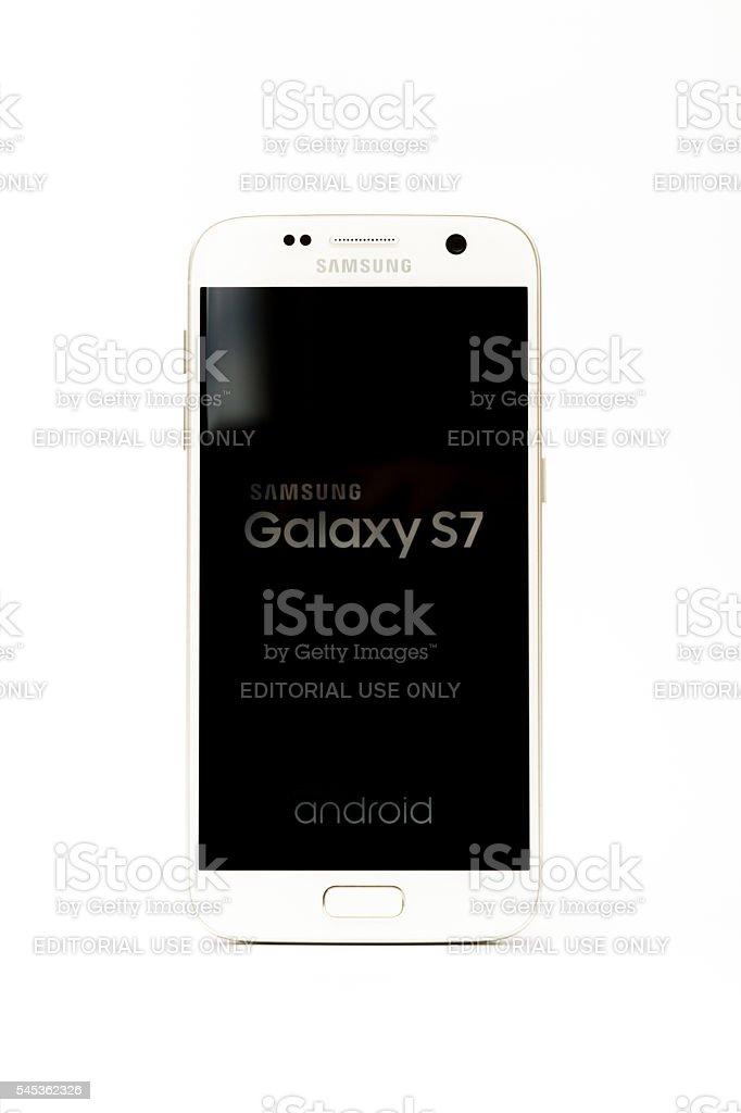 Samsung Galaxy S7 Smart Phone stock photo