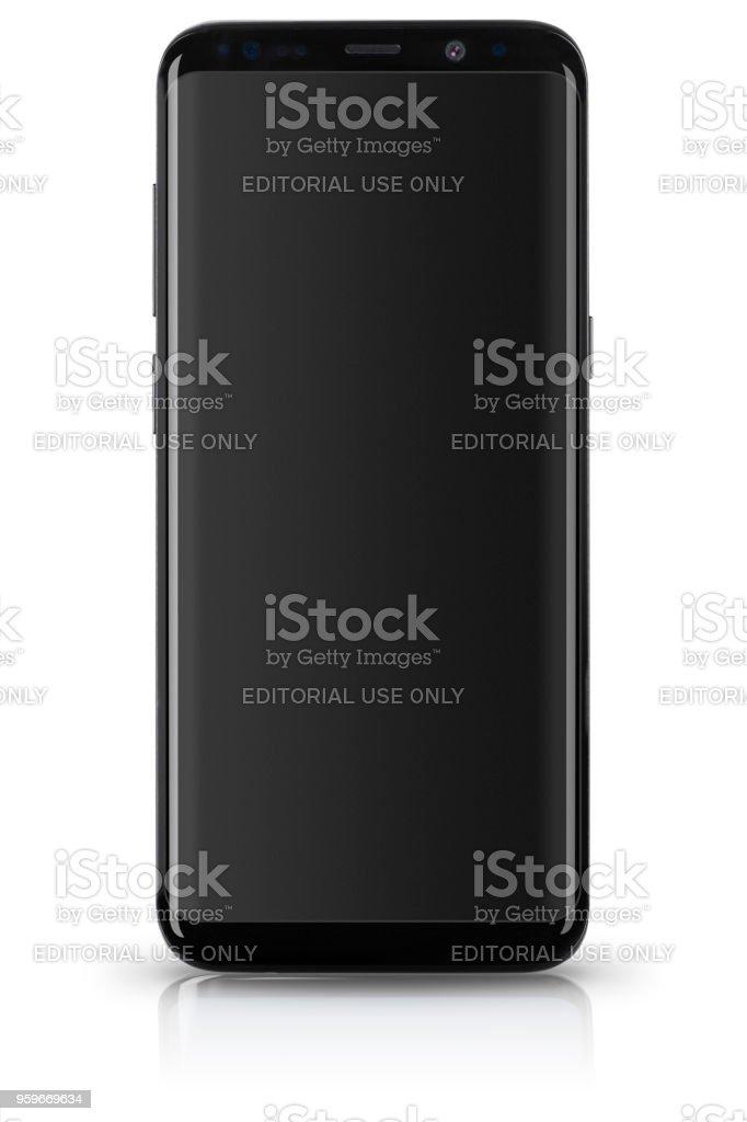 S9 Samsung Galaxy Plus - Foto de stock de Aplicación para móviles libre de derechos
