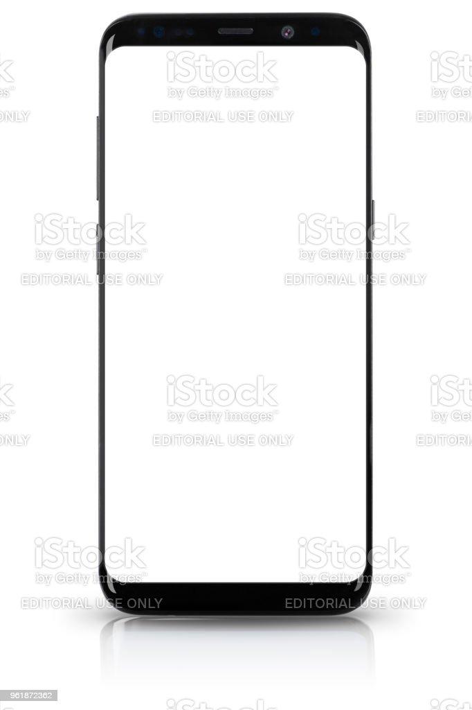 Samsung Galaxy S9 Plus stock photo