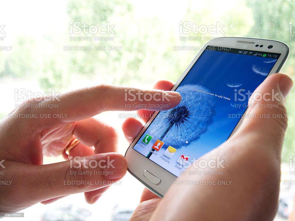 Samsung Galaxy SIII – Foto