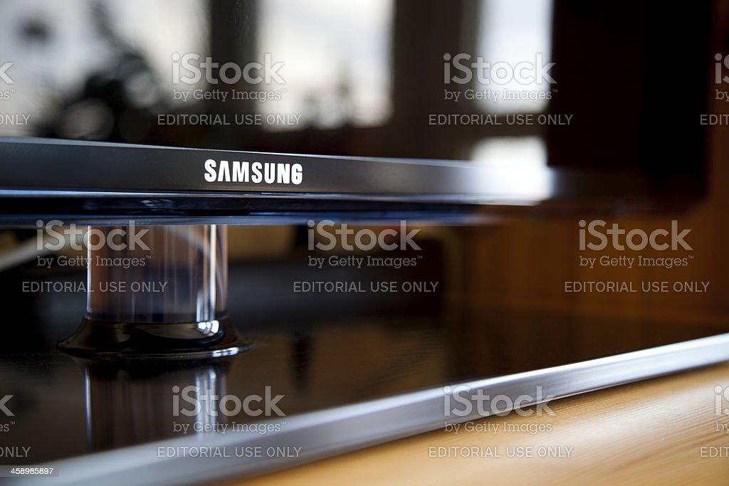Samsung LED TV stock photo