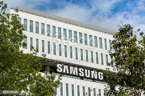 496586115 istock photo Samsung New Campus in San Jose 493248290