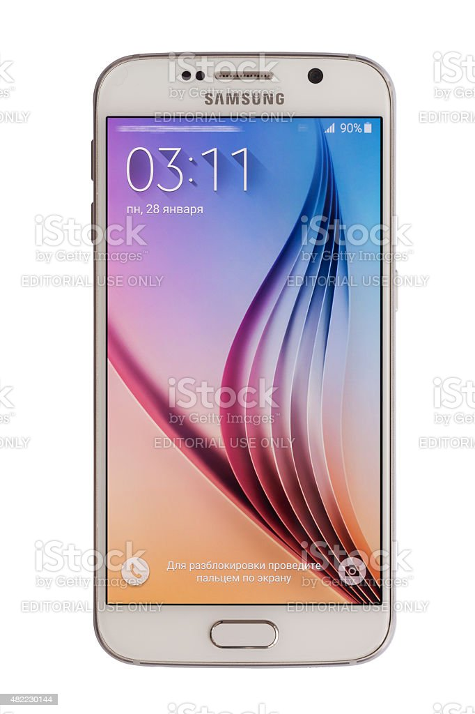 Samsung S6 Stock Photo - Download Image Now
