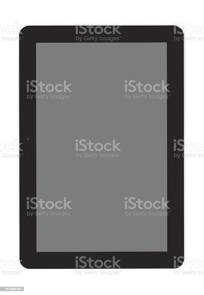 Samsung shaped Touch screen pad royalty-free stock photo
