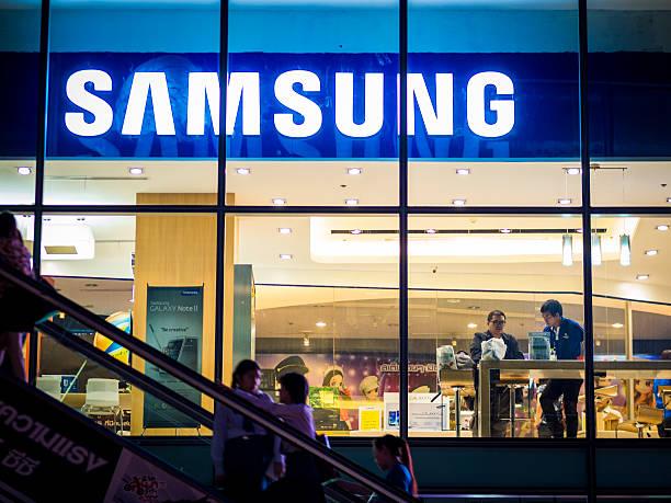 Samsung almacenar, Bangkok - foto de stock