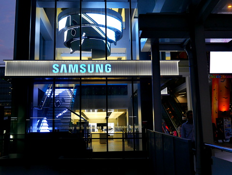 Samsung Store Thailand Stock Photo - Download Image Now