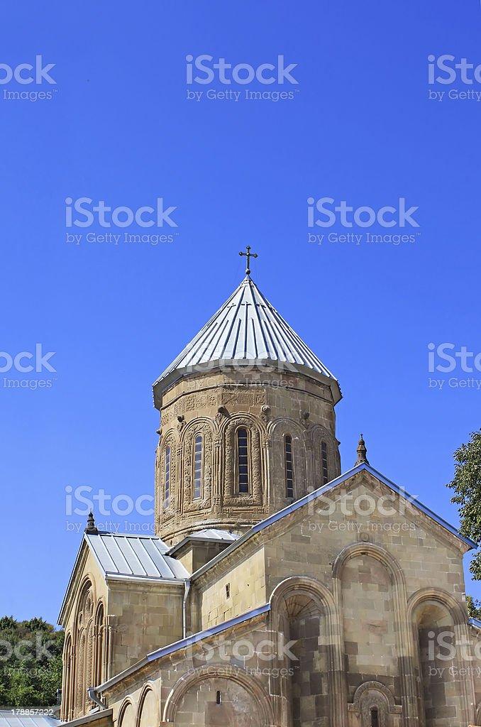 Samtavro Transfiguration Orthodox Church in Georgia royalty-free stock photo