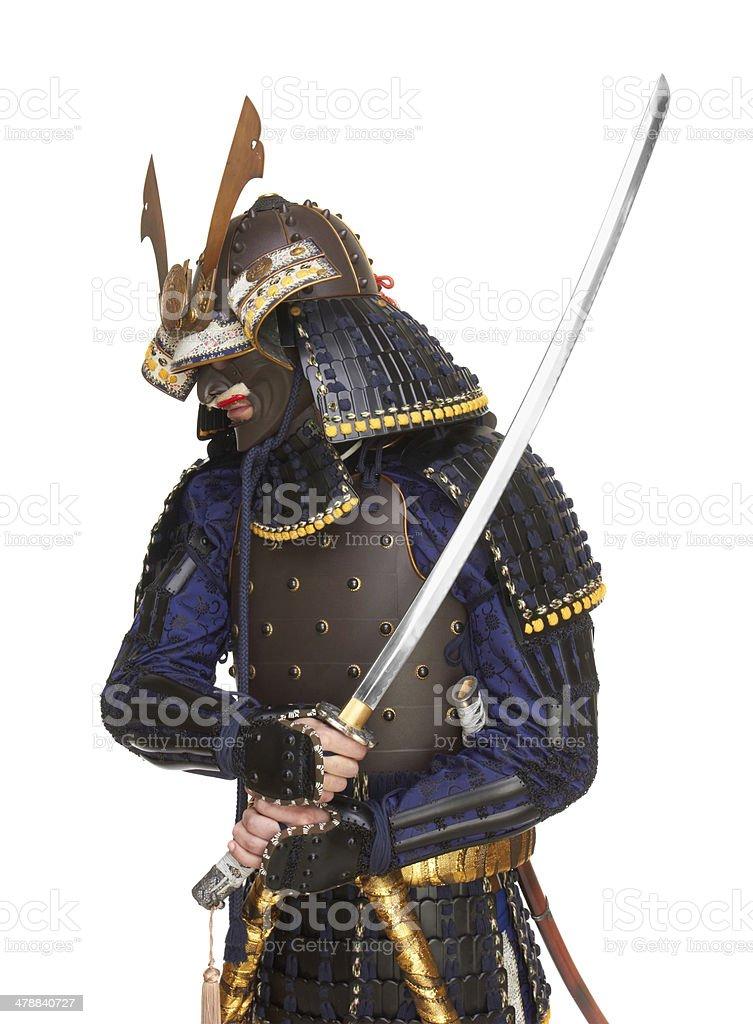 Fotografía de En Armadura De Samurai y más banco de imágenes de ...