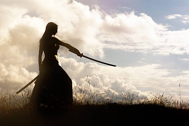 samurai - sword 個照片及圖片檔