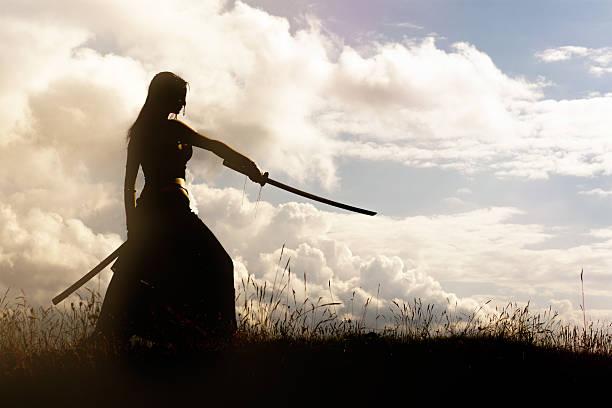 Samurai Samurai warrior battlefield stock pictures, royalty-free photos & images