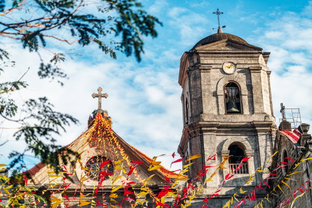 San Agustin Kirche in Intramuros, Philippinen Manila – Foto