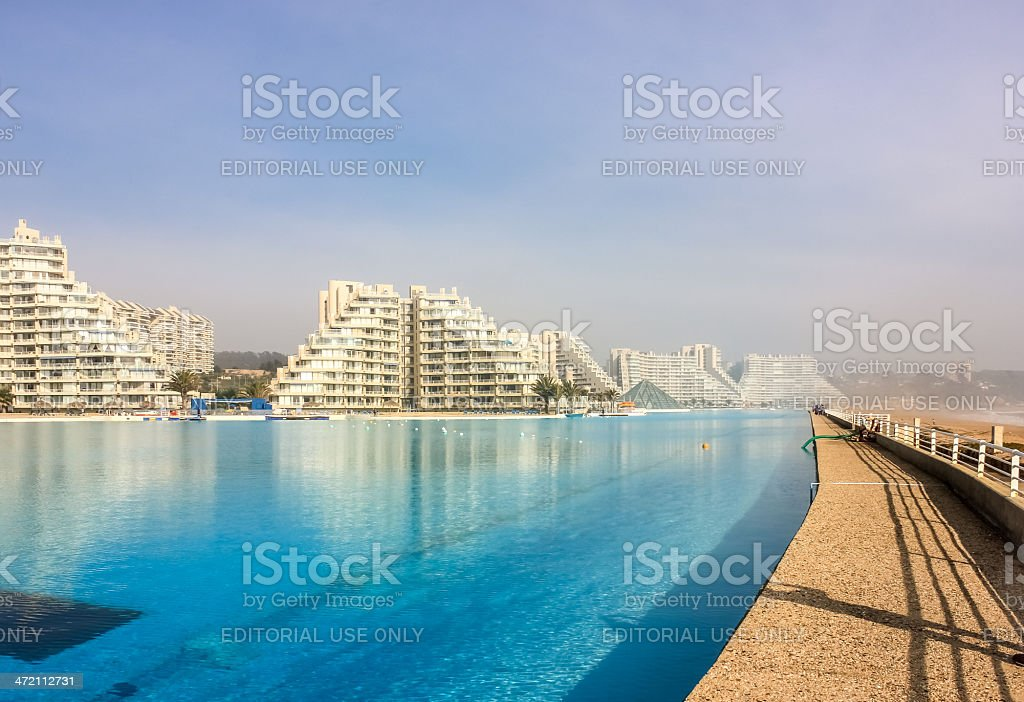 San Alfonso del Mar stock photo
