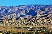 San Andreas Fault Line in Coachella Valley, CA.