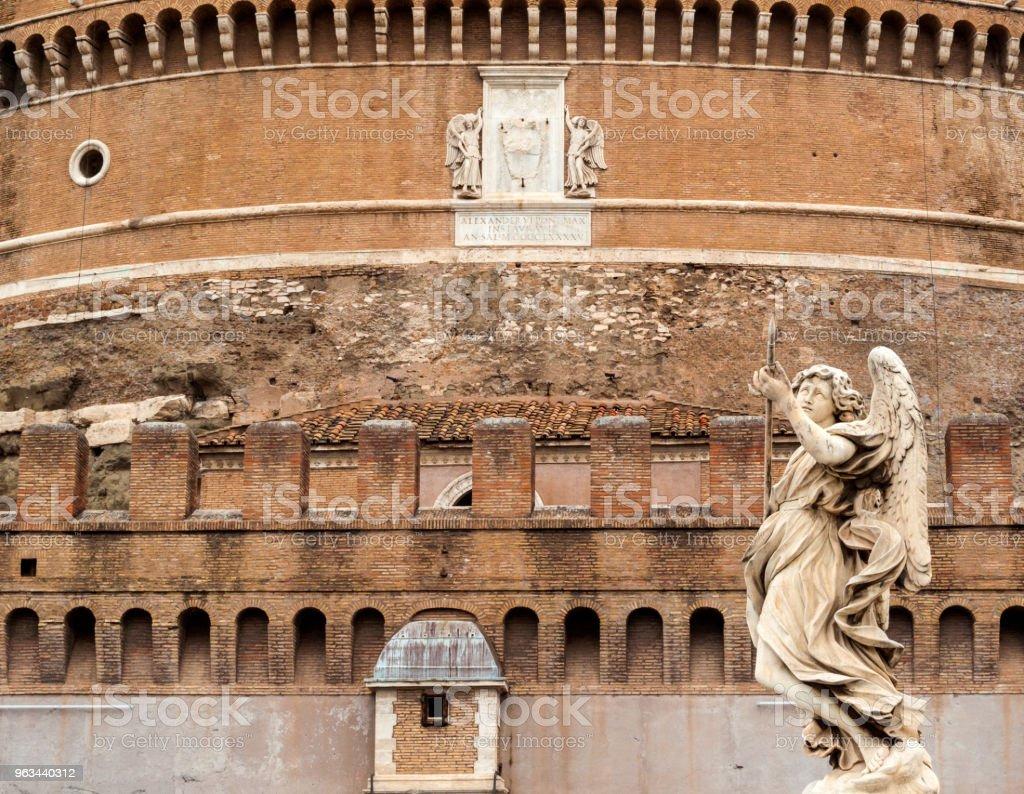 San Angelo: Roma, İtalya - Royalty-free Antik Stok görsel