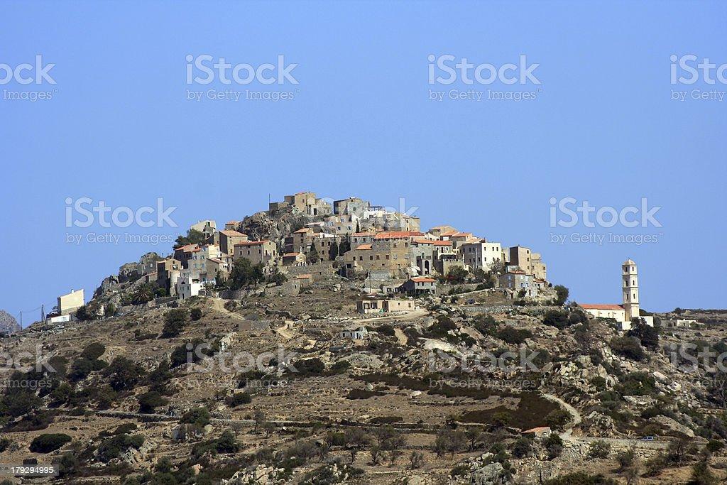 San Antonino, Corse stock photo