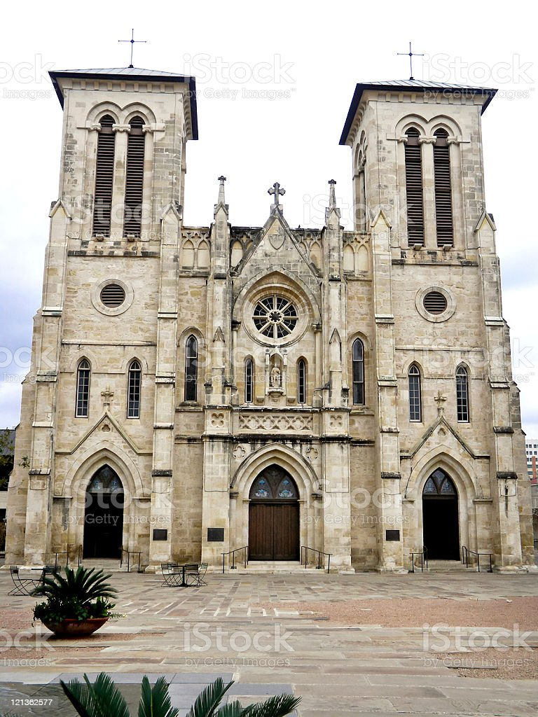 San Antonio Cathedral royalty-free stock photo