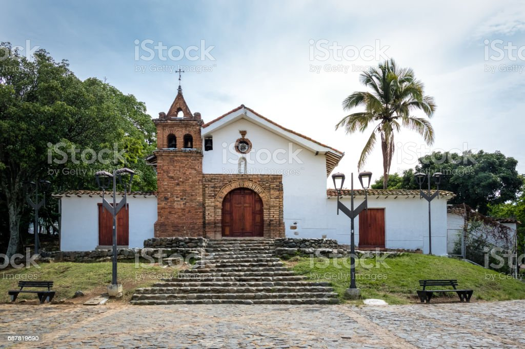 San Antonio Church - Cali, Colombia stock photo