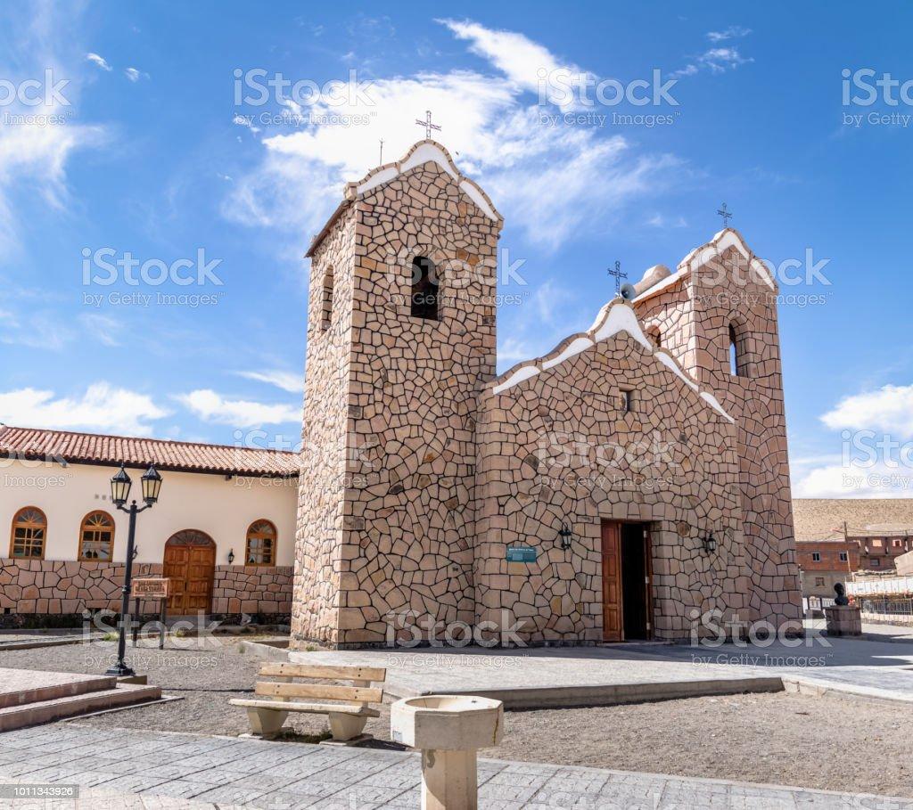 San Antonio de Padua Church - San Antonio de los Cobres, Salta,...